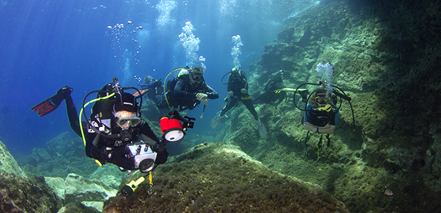 Tauchtouren in Griechenland / Diving tours in Greece