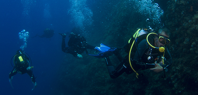 Tauchtouren in Griechenland / Diving tours in Greece